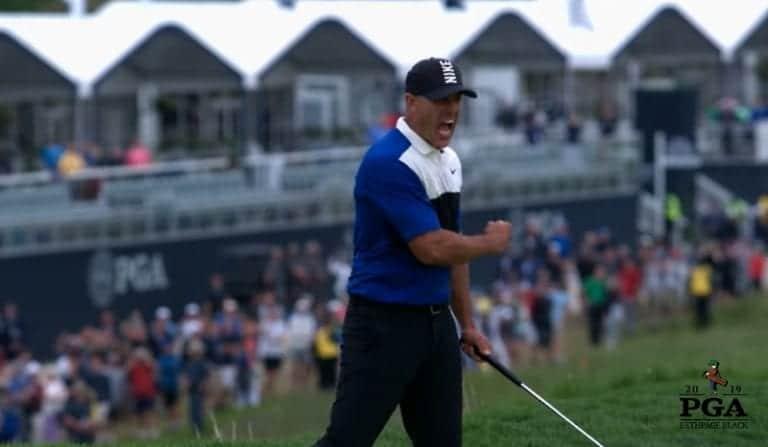 Video: Brooks Koepka oli sulaa, mutta piti ykköstilan PGA Championshipissä