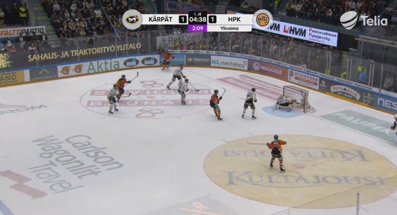 Video: Tällä tavalla Markus Nenonen iski HPK:n Suomen mestariksi