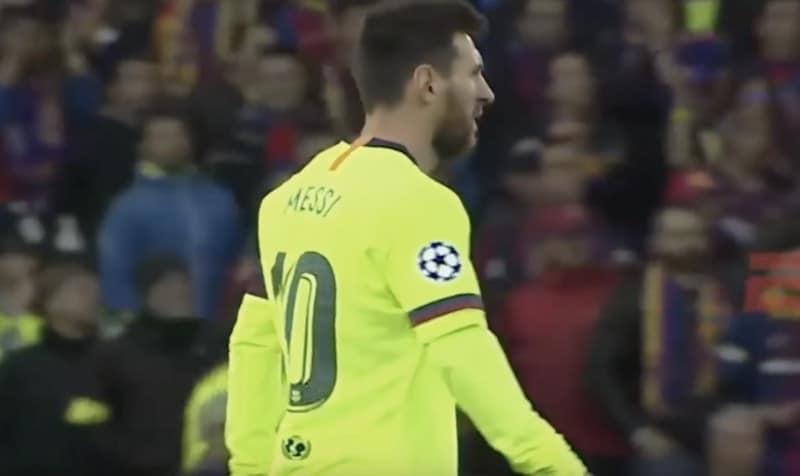 Video: Pallopoika juoksi röyhkeästi kentälle kettuilemaan Lionel Messille