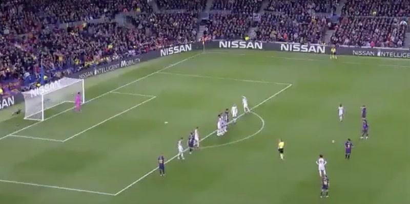 Video: Lionel Messi täräytti täysin jumalaisen vaparimaalin Liverpoolin verkkoon