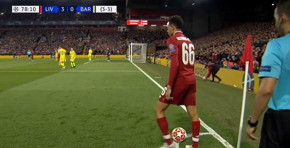 Video: Liverpoolin ratkaisuosuma Barcaa vastaan oli silkkaa neroutta