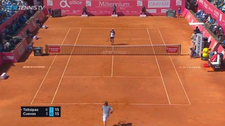 Video: Pablo Cuevas esitteli täysin uskomattoman suorituksen Estorilin ATP-finaalissa