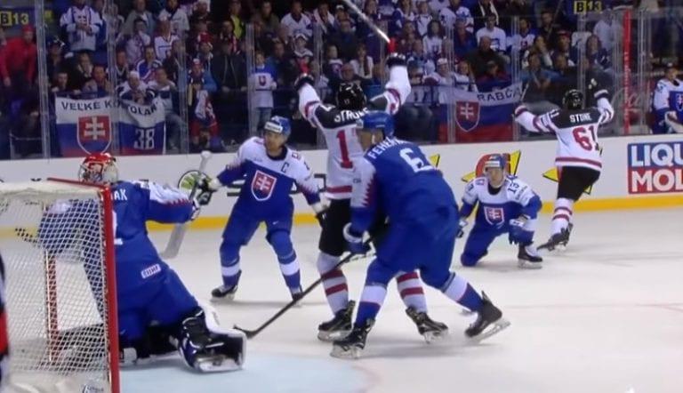 Slovakian faneille jaettiin porttikieltoja Kanada-matsin törkeän käytöksen johdosta