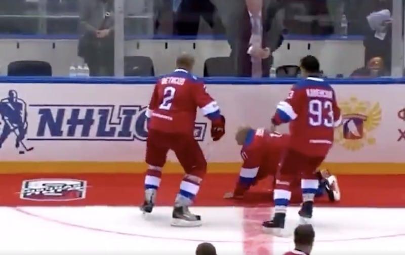 Video: Vladimir Putin veti rajusti pannut näytösottelussa – ei huomannut alkuunkaan punaista mattoa