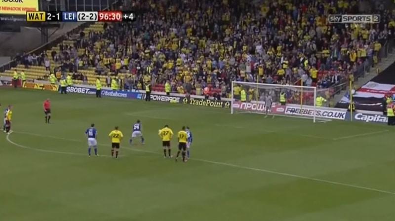 Watford Leicester Championshipin nousukarsinnat 2013 - Pallomeri.net