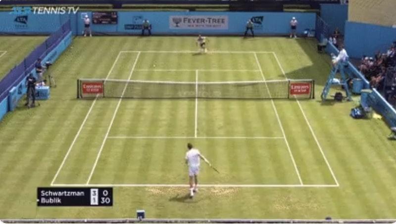 Video: Lontoon ATP-turnauksessa nähtiin