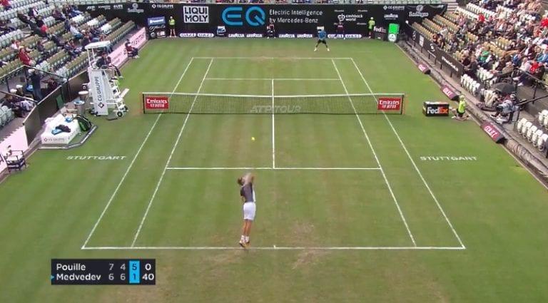 Video: Daniil Medvedev hurjana – nähtiinkö Stuttgartissa ATP-historian nopein syöttövuoro?