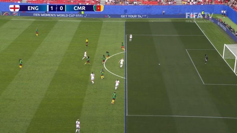 Englannin ja Kamerunin neljännesvälierästä muodostui todellinen sirkus