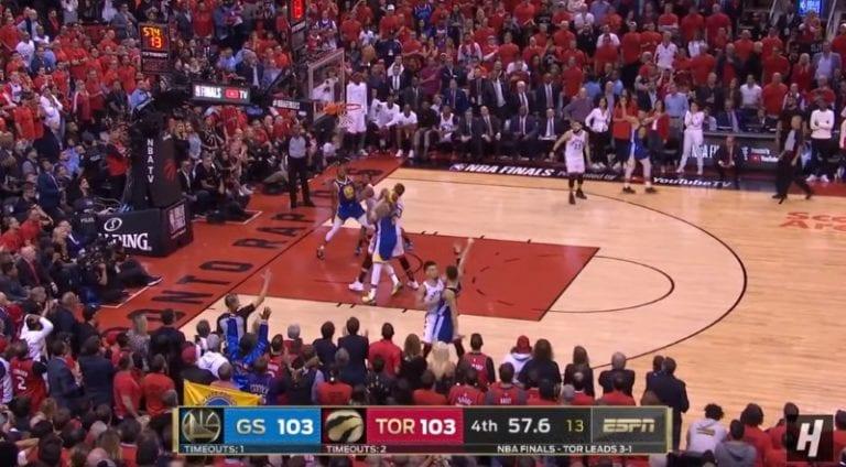 Video: GSW venytti NBA-finaalit kuudenteen matsiin todellisen trillerin jälkeen