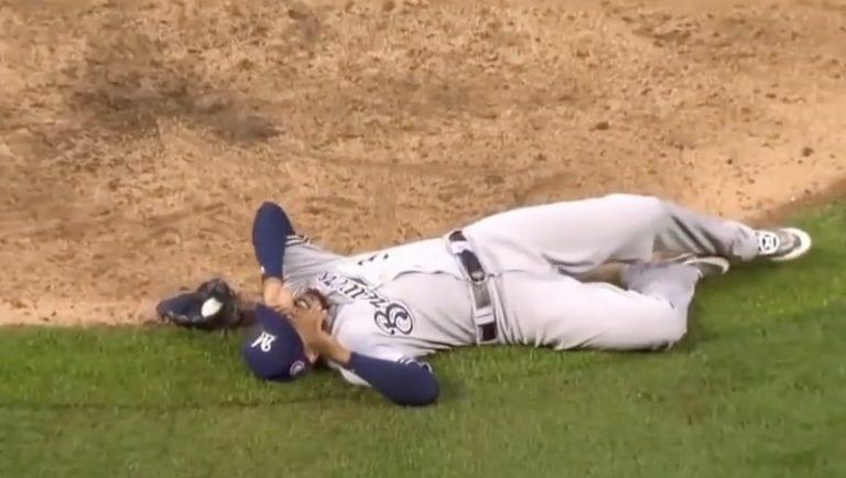 Video: MLB-pelaaja joutui hengenvaaralliseen tilanteeseen– nappasi jäätävän kopin ja joutui shokkitilaan