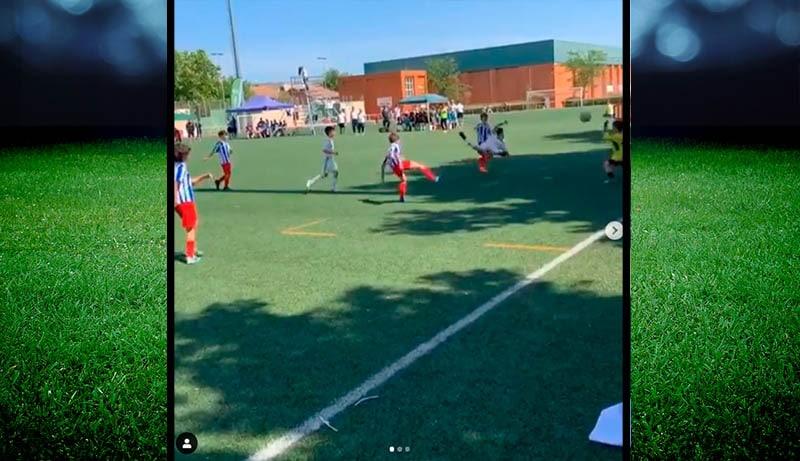 Video: Marcelon poika tehtaili fantastisen osuman Real Madridin juniorijoukkueen riveissä