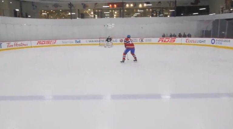 Video: F1-kuski Lance Stroll pääsi Montreal Canadiensin treeneihin