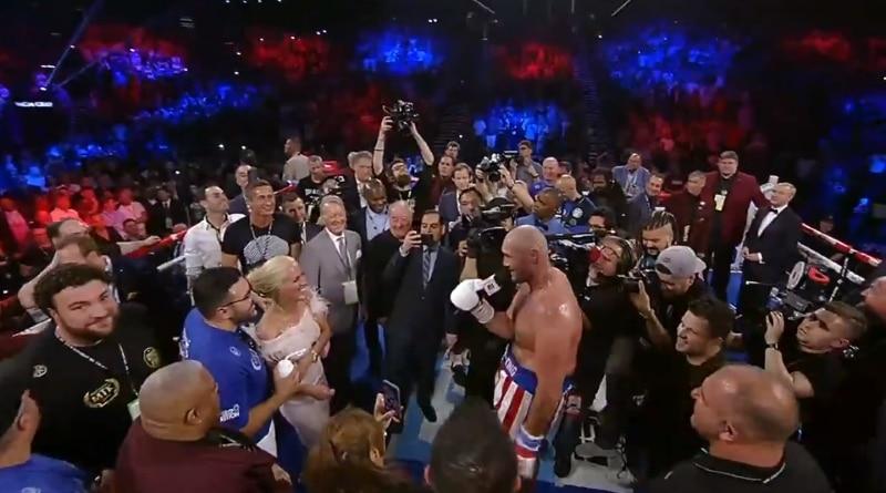 Video: Tyson Fury häikäisi ottelun jälkeisellä Aerosmith-tulkinnallaan