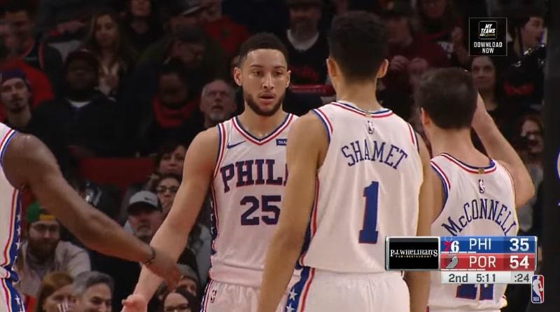 Philadelphia 76ersin Ben Simmons teki 170 miljoonan dollarin sopimuksen