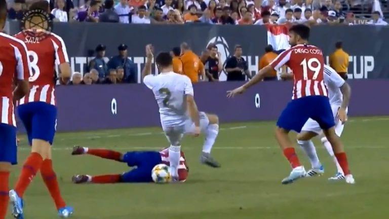 Video: Diego Costa iski neljä maalia Real Madridia vastaan – päätti ottelunsa suoraan punaiseen