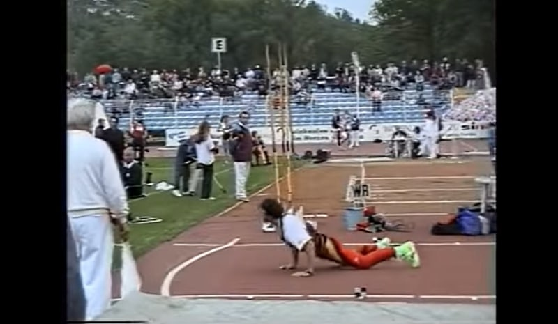 Klassikkovideo: Jan Zelezny & lähes 100-metrinen maailmanennätys