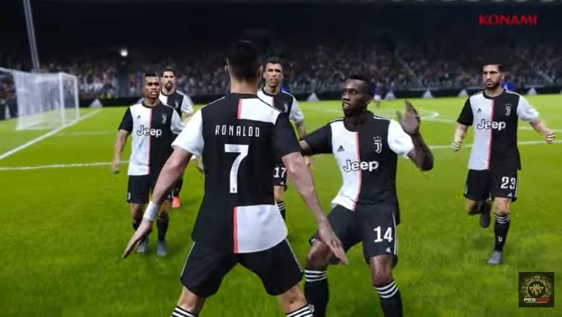 PES vei oikeudet Juventus-lisenssiin - FIFA-pelisarja jäi nuolemaan näppejään