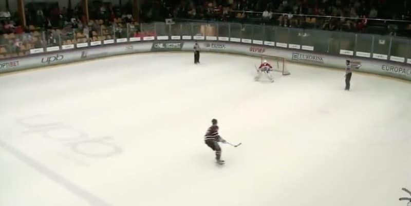 KHL-seuran harjoitusottelussa nähtiin uskomattomat rankkaritalkoot