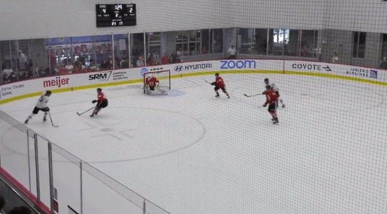 Video: NHL-draftin kolmosvaraus Kirby Dach näytti huimaa taituruuttaan