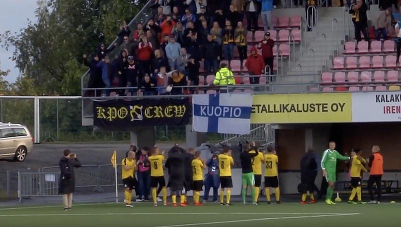 KuPS upeasti jatkoon eurokentillä – näin pelit jatkuvat Eurooppa-liigan karsinnoissa