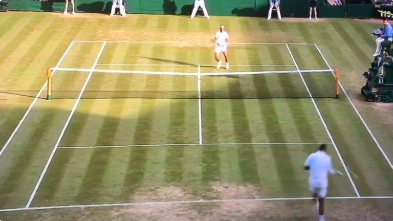 Video: Nick Kyrgios tempaisi tahallaan hurjan kämmenlyönnin Rafael Nadalia päin