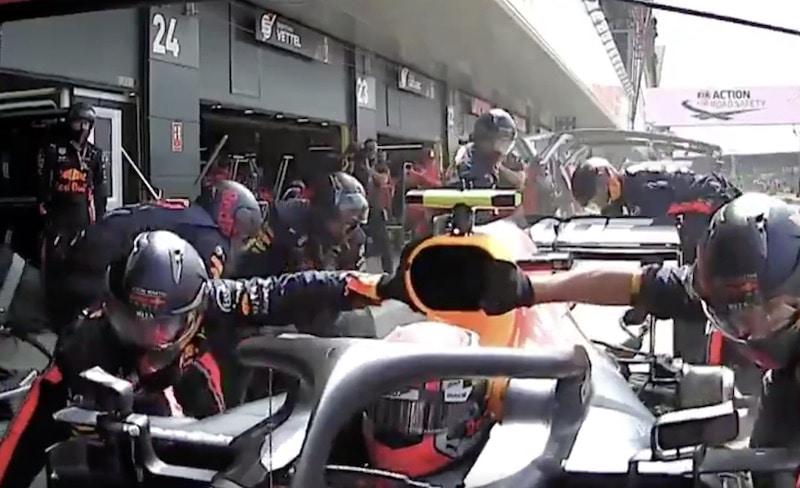 Video: Red Bull teki kaikkien aikojen nopeimman varikkopysähdyksen F1:ssä