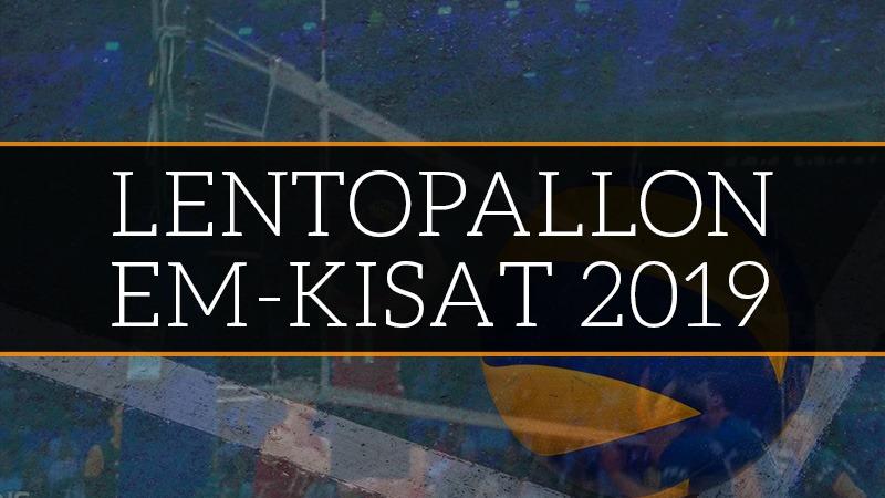 Lentopallon EM-kisat 2019 – otteluohjelma, kaavio ja Suomen joukkue