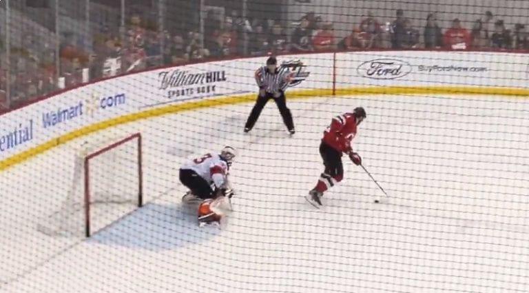 Video: New Jersey Devilsin leirillä nähtiin huikea rankkarikikka