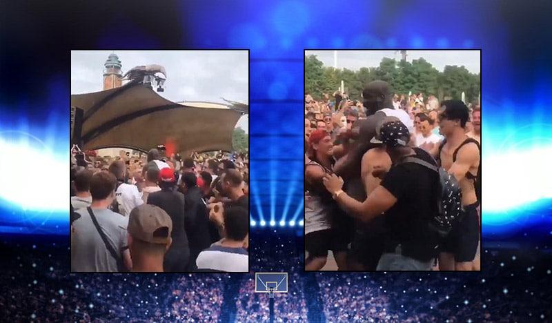 Video: Shaquille O'Neal osallistui mosh pitiin Tomorrowland-festareilla