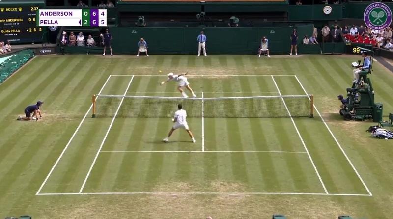 Video: Wimbledonissa nähtiin tosielämän Wii Tennis -taistelu