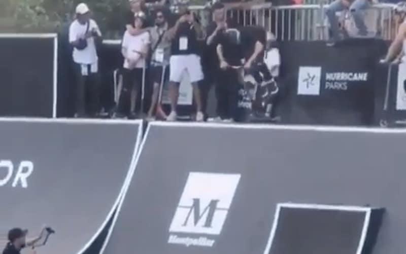 Video: 15-vuotias poika teki potkulaudalla uskomattoman tempun