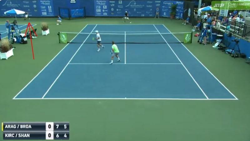 Video: Jenkkipelurilta nähtiin aivan mieletön haku ATP Challenger Tourilla