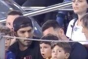 Video: Lionel Messin poika juhli vastustajan maalia Camp Noulla – Luis Suarez antoi välittömän palautteen