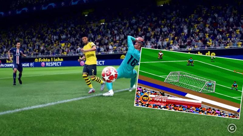 Video: FIFA-pelisarjan kehitys vuodesta 1994 vuoteen 2019