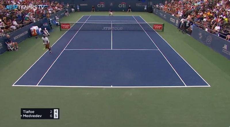 Frances Tiafoe ATP Tour Tennis