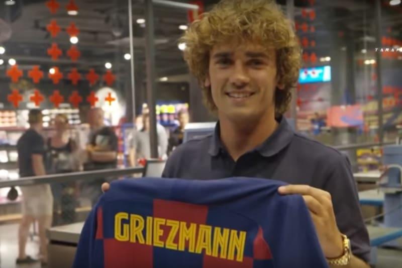 Barcelona valittaa Griezmann-siirrosta saamastaan 300€ sakosta