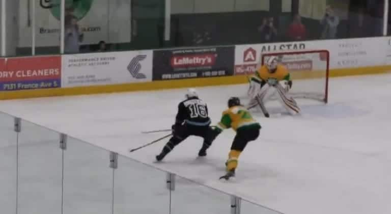 Video: Erik Haula namutteli NHL-tähtiä vilisevässä kesäliigassa