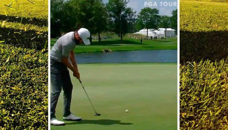 Video: PGA Tourilla nähtiin todella harvinainen tilanne – tuuli painoi ohi menneen putin kuppiin