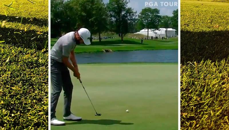 Video: PGA Tourilla nähtiin todella harvinainen tilanne - tuuli painoi ohi menneen putin kuppiin