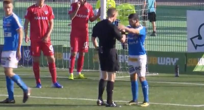 Video: Erotuomarin koskemattomuutta loukattiin – RoPS-pelurille neljän ottelun panna