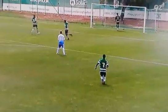 Video: Sporting meni Portugalin U15-liigassa johtoon 13 sekunnissa koskematta kertaakaan palloon