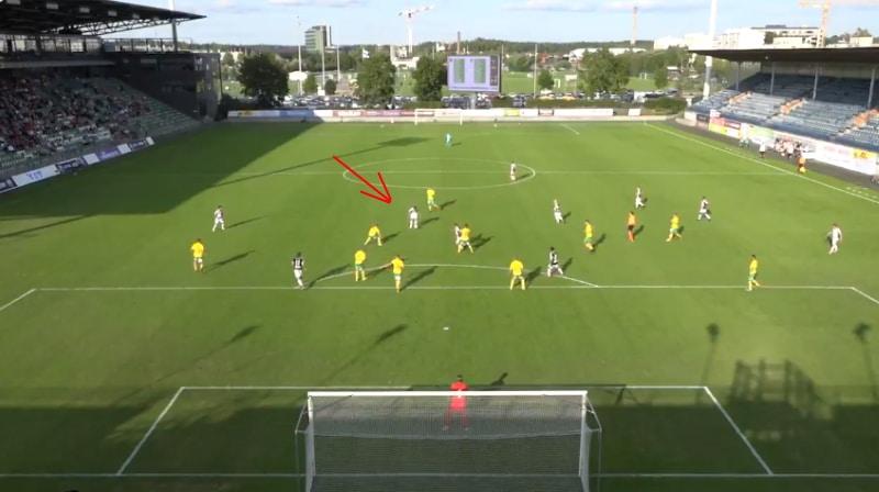 Video: TPS:n Valtteri Vesiaho tykitti fantastisen osuman Ykkösessä