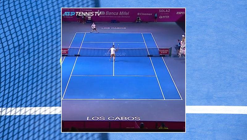 Video: Taylor Fritz kämmäsi uskomattoman koomisella tavalla ATP-turnauksessa