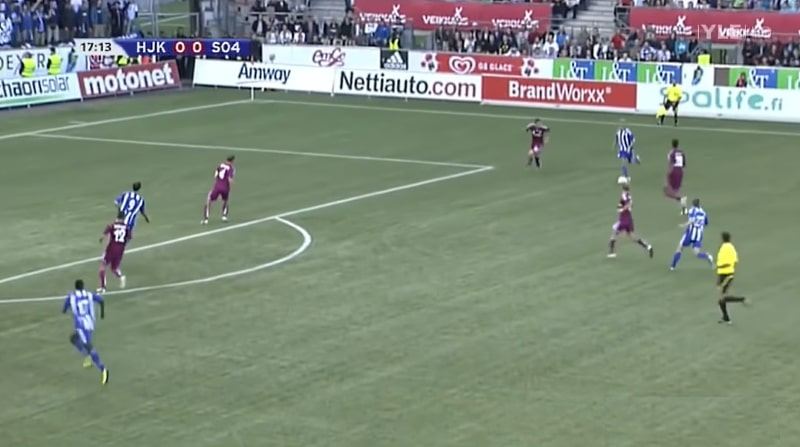 Klassikkovideo: HJK:n Teemu Pukki painoi kaksi upeaa maalia Schalkea vastaan