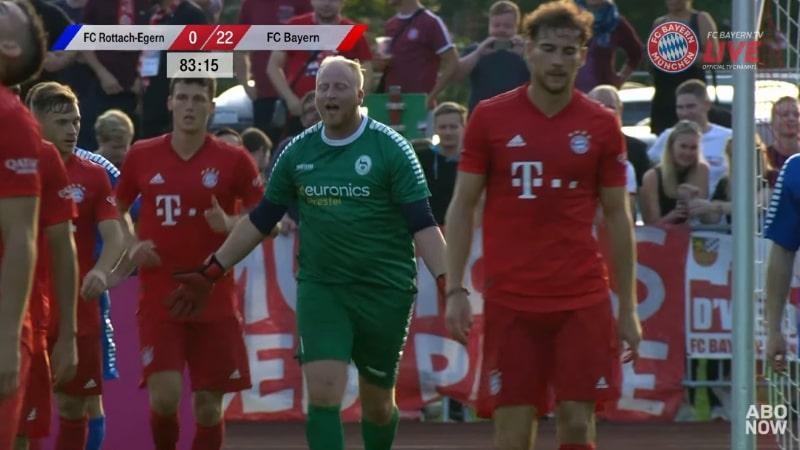 Video: Bayern München hurjasteli harjoitusottelussa - matsi päättyi 23-0