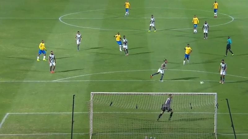 Video: Häikäisevä maali Etelä-Afrikan liigassa – Hlompho Kekana painoi tajuttoman kudin 35 metristä