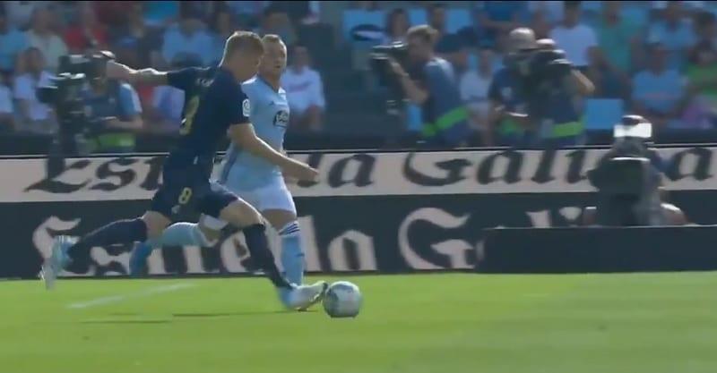 Video: Real Madridin Toni Kroos tykitti upean voittomaalin - karmea pommi yläriman kautta sisään