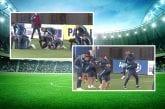 Video: Paraguaylaisjoukkue treenasi