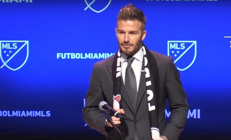 David Beckhamin Inter Miami sai huonoja uutisia – kaavailtu stadiontontti paljastui saastuneeksi