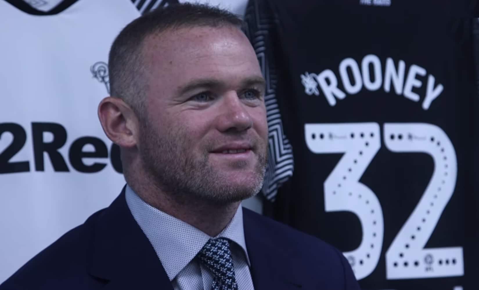 Wayne Rooney joutui Derbyssä myrskyn keskelle pelaamatta peliäkään – tuleva pelinumero närästää monia